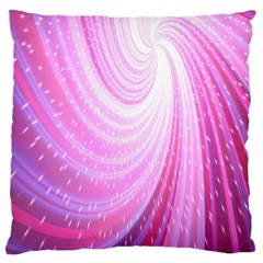 Vortexglow Abstract Background Wallpaper Large Cushion Case (Two Sides)