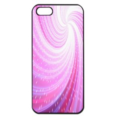 Vortexglow Abstract Background Wallpaper Apple Iphone 5 Seamless Case (black)