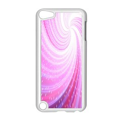 Vortexglow Abstract Background Wallpaper Apple Ipod Touch 5 Case (white)