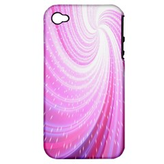 Vortexglow Abstract Background Wallpaper Apple iPhone 4/4S Hardshell Case (PC+Silicone)