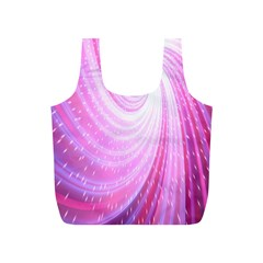 Vortexglow Abstract Background Wallpaper Full Print Recycle Bags (S)