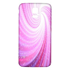 Vortexglow Abstract Background Wallpaper Samsung Galaxy S5 Back Case (White)