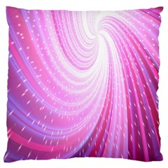 Vortexglow Abstract Background Wallpaper Large Flano Cushion Case (One Side)