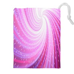 Vortexglow Abstract Background Wallpaper Drawstring Pouches (xxl)