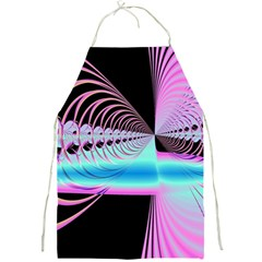 Blue And Pink Swirls And Circles Fractal Full Print Aprons