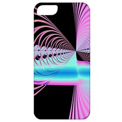 Blue And Pink Swirls And Circles Fractal Apple Iphone 5 Classic Hardshell Case