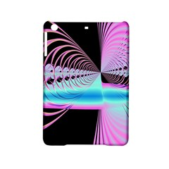 Blue And Pink Swirls And Circles Fractal iPad Mini 2 Hardshell Cases