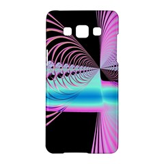 Blue And Pink Swirls And Circles Fractal Samsung Galaxy A5 Hardshell Case