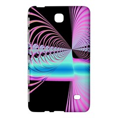 Blue And Pink Swirls And Circles Fractal Samsung Galaxy Tab 4 (8 ) Hardshell Case