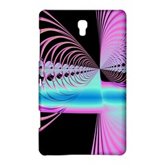 Blue And Pink Swirls And Circles Fractal Samsung Galaxy Tab S (8 4 ) Hardshell Case