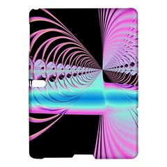 Blue And Pink Swirls And Circles Fractal Samsung Galaxy Tab S (10 5 ) Hardshell Case