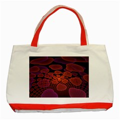 Heart Invasion Background Image With Many Hearts Classic Tote Bag (Red)