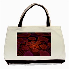 Heart Invasion Background Image With Many Hearts Basic Tote Bag (two Sides)