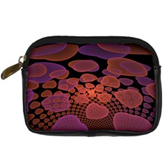 Heart Invasion Background Image With Many Hearts Digital Camera Cases