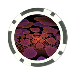Heart Invasion Background Image With Many Hearts Poker Chip Card Guard (10 pack)