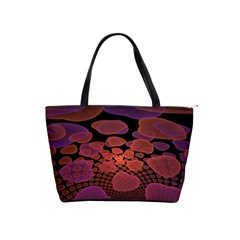 Heart Invasion Background Image With Many Hearts Shoulder Handbags