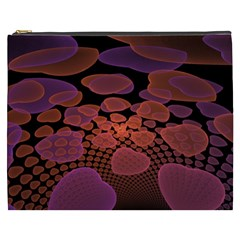 Heart Invasion Background Image With Many Hearts Cosmetic Bag (xxxl)