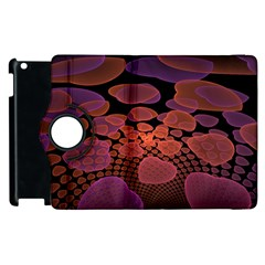 Heart Invasion Background Image With Many Hearts Apple iPad 2 Flip 360 Case