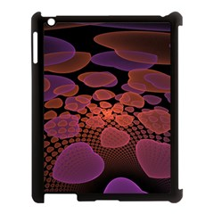 Heart Invasion Background Image With Many Hearts Apple iPad 3/4 Case (Black)
