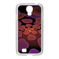 Heart Invasion Background Image With Many Hearts Samsung GALAXY S4 I9500/ I9505 Case (White)