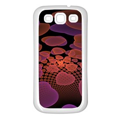 Heart Invasion Background Image With Many Hearts Samsung Galaxy S3 Back Case (White)