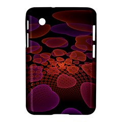 Heart Invasion Background Image With Many Hearts Samsung Galaxy Tab 2 (7 ) P3100 Hardshell Case
