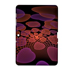 Heart Invasion Background Image With Many Hearts Samsung Galaxy Tab 2 (10.1 ) P5100 Hardshell Case