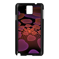 Heart Invasion Background Image With Many Hearts Samsung Galaxy Note 3 N9005 Case (black)
