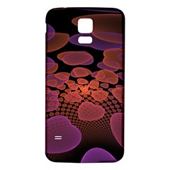 Heart Invasion Background Image With Many Hearts Samsung Galaxy S5 Back Case (white)