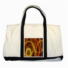 Circle Tiles A Digitally Created Abstract Background Two Tone Tote Bag