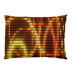 Circle Tiles A Digitally Created Abstract Background Pillow Case