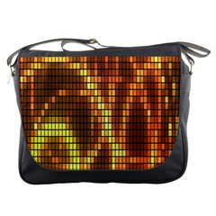 Circle Tiles A Digitally Created Abstract Background Messenger Bags