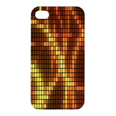 Circle Tiles A Digitally Created Abstract Background Apple Iphone 4/4s Premium Hardshell Case