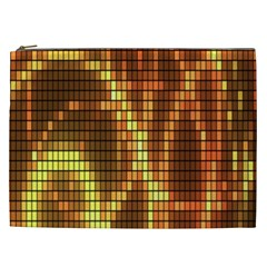 Circle Tiles A Digitally Created Abstract Background Cosmetic Bag (XXL)