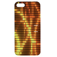 Circle Tiles A Digitally Created Abstract Background Apple iPhone 5 Hardshell Case with Stand
