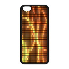 Circle Tiles A Digitally Created Abstract Background Apple Iphone 5c Seamless Case (black)