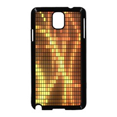 Circle Tiles A Digitally Created Abstract Background Samsung Galaxy Note 3 Neo Hardshell Case (Black)
