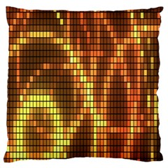 Circle Tiles A Digitally Created Abstract Background Standard Flano Cushion Case (One Side)