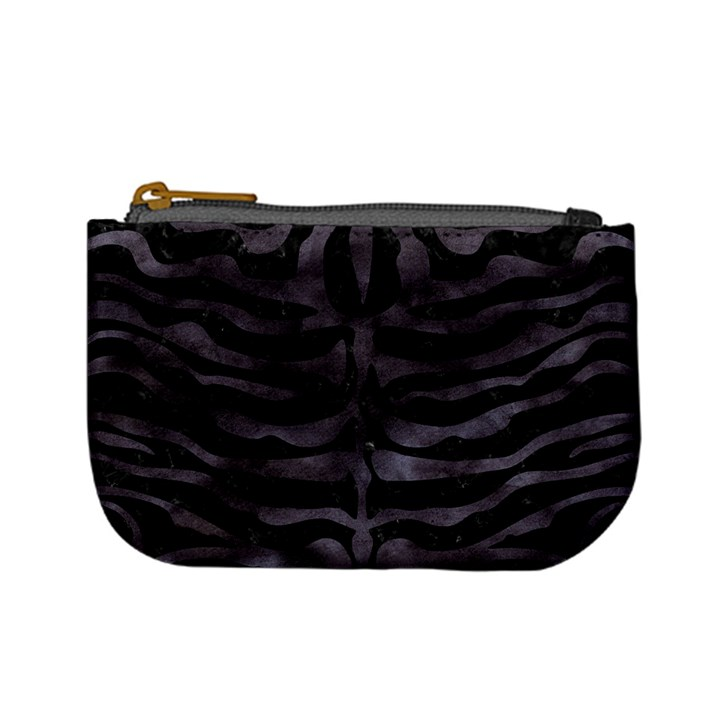 SKIN2 BLACK MARBLE & BLACK WATERCOLOR Mini Coin Purse
