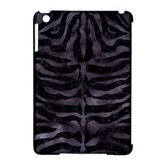 Skin2 Black Marble & Black Watercolor Apple Ipad Mini Hardshell Case (compatible With Smart Cover)