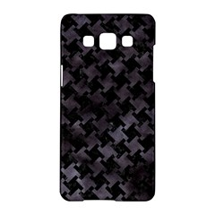 Houndstooth2 Black Marble & Black Watercolor Samsung Galaxy A5 Hardshell Case