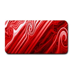 Red Abstract Swirling Pattern Background Wallpaper Medium Bar Mats