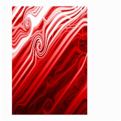 Red Abstract Swirling Pattern Background Wallpaper Small Garden Flag (two Sides)