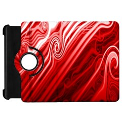 Red Abstract Swirling Pattern Background Wallpaper Kindle Fire Hd 7