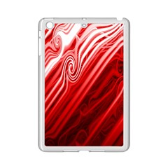 Red Abstract Swirling Pattern Background Wallpaper Ipad Mini 2 Enamel Coated Cases