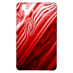 Red Abstract Swirling Pattern Background Wallpaper Samsung Galaxy Tab Pro 8.4 Hardshell Case
