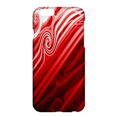 Red Abstract Swirling Pattern Background Wallpaper Apple iPhone 6 Plus/6S Plus Hardshell Case