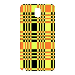 Yellow Orange And Black Background Plaid Like Background Of Halloween Colors Orange Yellow And Black Samsung Galaxy Note 3 N9005 Hardshell Back Case