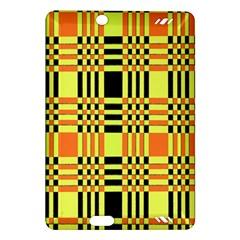 Yellow Orange And Black Background Plaid Like Background Of Halloween Colors Orange Yellow And Black Amazon Kindle Fire Hd (2013) Hardshell Case