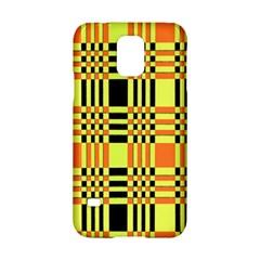 Yellow Orange And Black Background Plaid Like Background Of Halloween Colors Orange Yellow And Black Samsung Galaxy S5 Hardshell Case